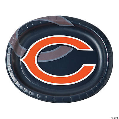 NFL® Chicago Bears™ Oval Paper Dinner Plates