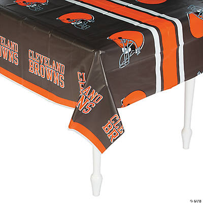 NFL® Cleveland Browns Plastic Tablecloth