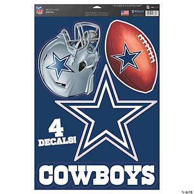 NFL® Dallas Cowboys™ Window Decals