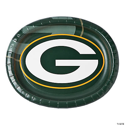 NFL® Green Bay Packers™ Oval Paper Dinner Plates
