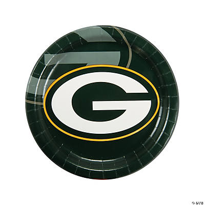 NFL® Green Bay Packers™ Paper Dinner Plates