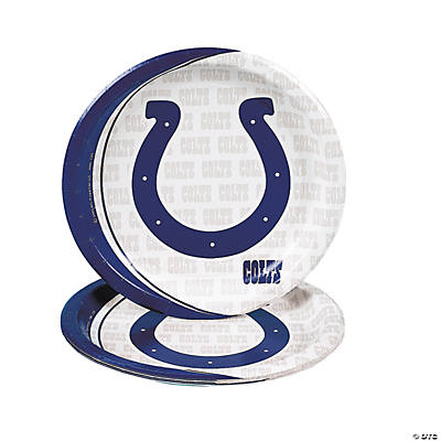 NFL® Indianapolis Colts™ Logo Dinner Plates