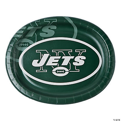 NFL® New York Jets™ Oval Paper Dinner Plates