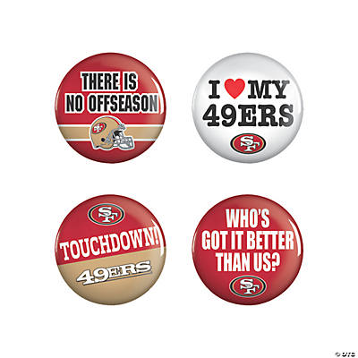 NFL® San Francisco 49ers™ Buttons