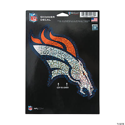 NFL<sup>®</sup> Denver Broncos<sup>™</sup> Shimmer Decal