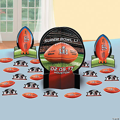 NFL® Super Bowl LI Table Decorating Kit