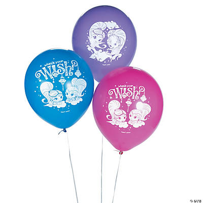 "Nickelodeon™ Shimmer & Shine™ 12"" Latex Balloons"