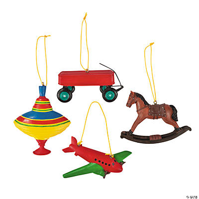 Nostalgic Toy Christmas Ornaments