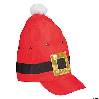 novelty santa hat baseball cap
