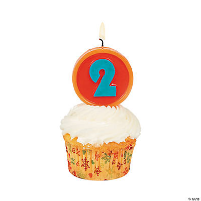 "Number ""2"" Candle"