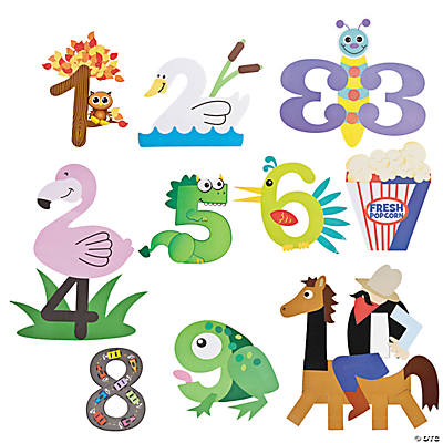 Number Craft Kits