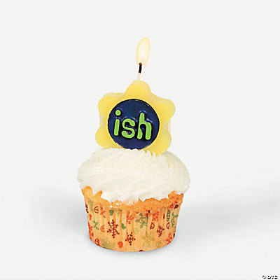 "Number ""ish"" Candle"