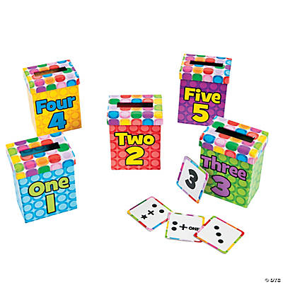 Number Sense Sorting Boxes 1 - 5