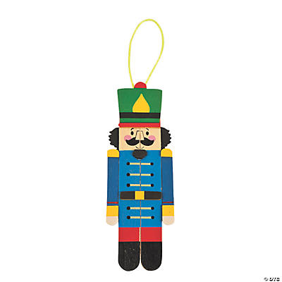 Nutcracker Craft Stick Ornament Craft Kit
