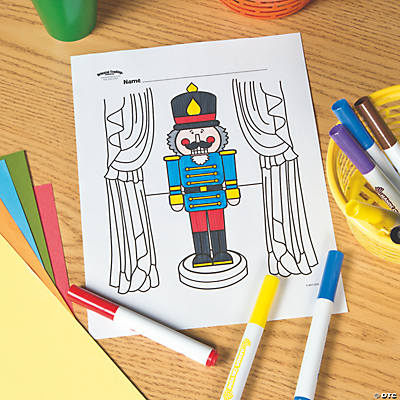 Nutcracker Free Printable Coloring Page
