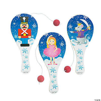 Nutcracker Paddleball Games