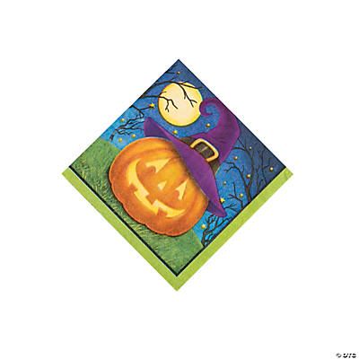 October Eve Beverage Napkins