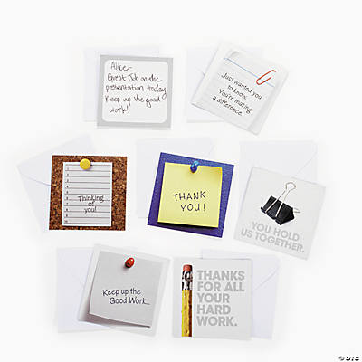 Office Signs Mini Thank You Notes
