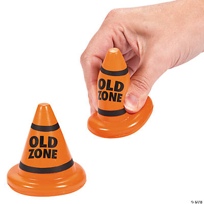 """Old Zone"" Cone Stress Toys"