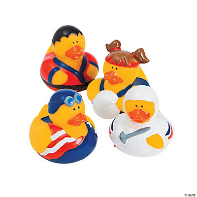 Olympian Summer Games Rubber Duckies