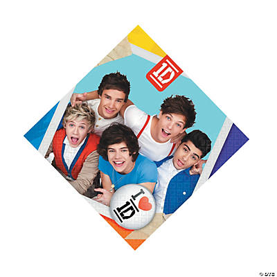 One Direction Luncheon Napkins