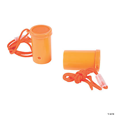 Orange Air Blaster Horns