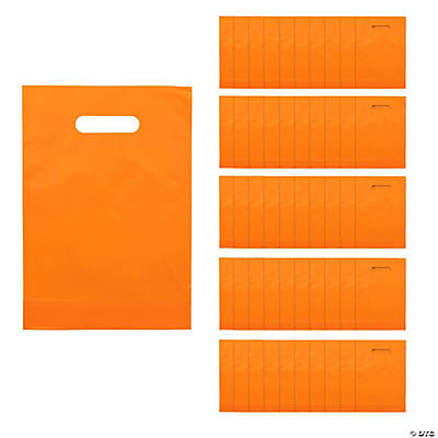 Orange Plastic Bags