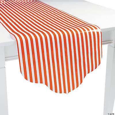 Orange Reversible Table Runner