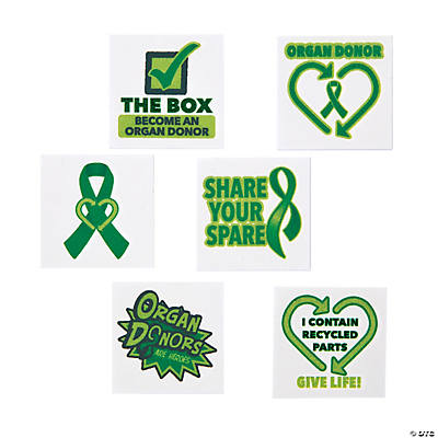 organ donor awareness tattoos. Black Bedroom Furniture Sets. Home Design Ideas