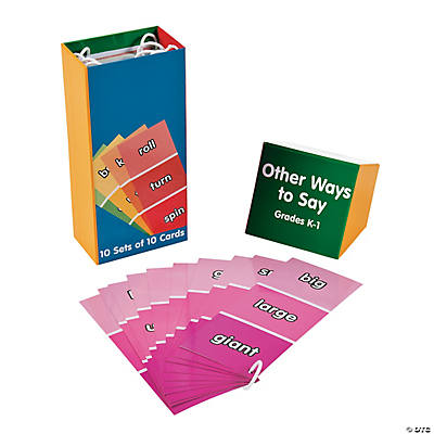 Other Ways to Say...Card Set Grades K - 1