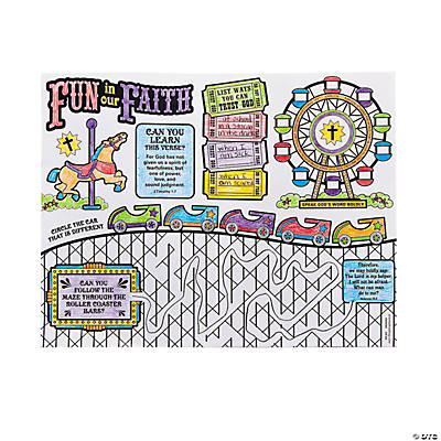 """Over The Top"" Activity Mats"