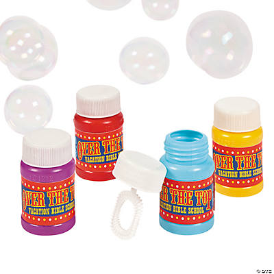 """Over the Top"" Bubble Bottles"