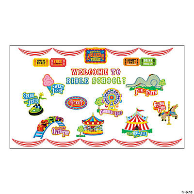 """Over the Top"" Bulletin Board Set"