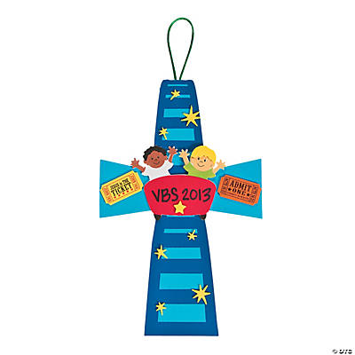 """Over the Top Cross"" Sign Craft Kit"