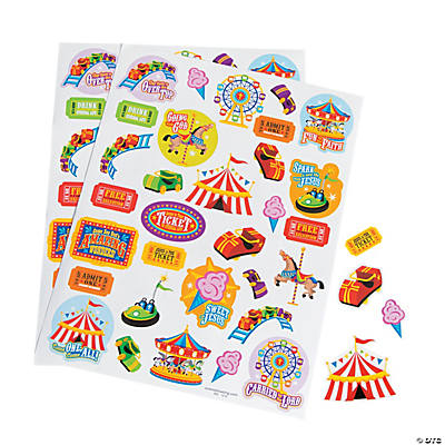 """Over the Top"" Sticker Sheets"