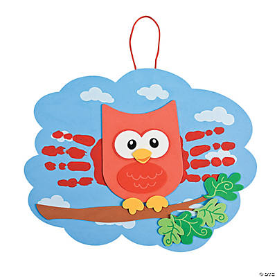 Owl Handprint Craft Kit