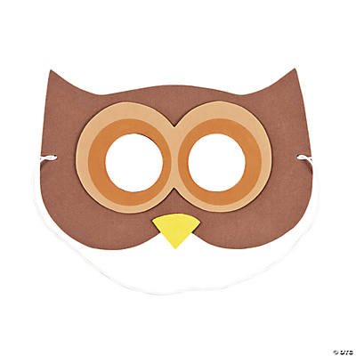 Owl Mask Craft Kit