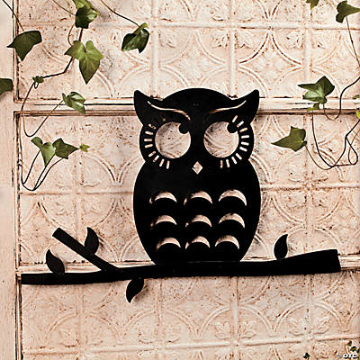 Owl Silhouette Wall Decoration