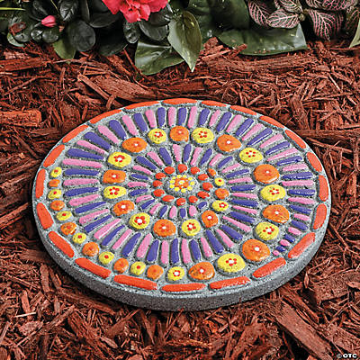 Your own stepping stone mosaic paint your own stepping stone mosaic pronofoot35fo Images