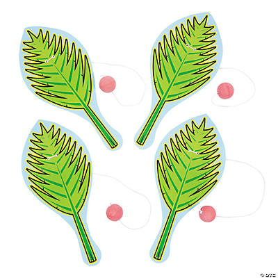 Palm Frond Paddleball Games