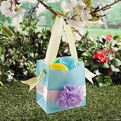 Bag easter basket idea paper bag easter basket idea negle Images