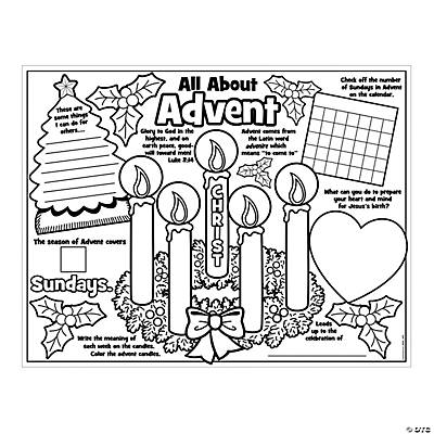 advent coloring pages crafts - photo#20
