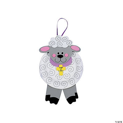 "Paper Plate ""Lamb of God"" Craft Kit"