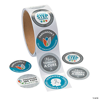Parkinson's Awareness Stickers