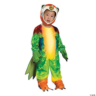 how to make a parrot costume