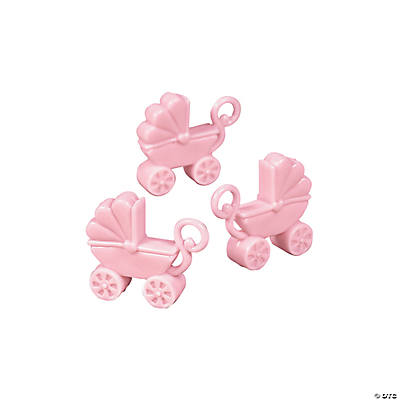 shower favors in 42 1302 null pastel pink baby carriage shower favors