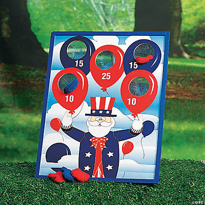 Patriotic Bean Bag Toss Game
