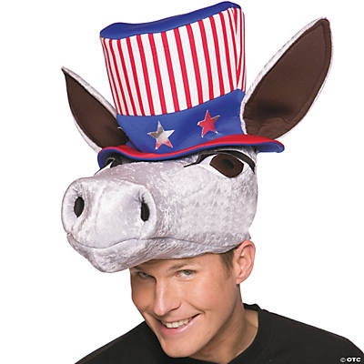 Patriotic Democrat Donkey Hat