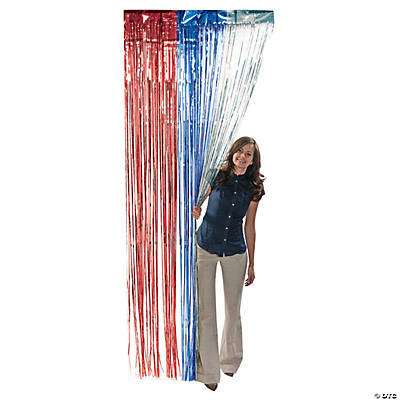 Patriotic Door Curtain