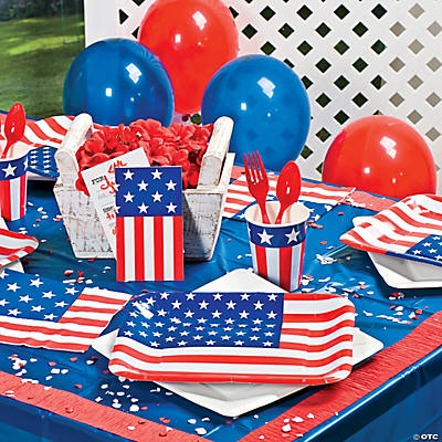 Patriotic Flag Basic Party Pack